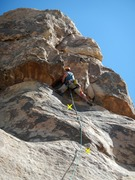 Rock Climbing Photo: Starting into the gear section of the climb. The s...
