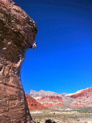 Rock Climbing Photo: Caustic in the Calico Basin