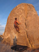 Rock Climbing Photo: Wagon Wheel is home to thousands of boulders. Most...