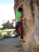 Rock Climbing Photo: My son, on one of the more aesthetically pleasing ...