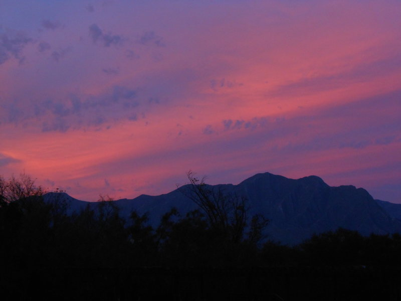 Obligatory technicolor sunset picture