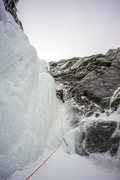 Rock Climbing Photo: Marc-Antoine on the crux.