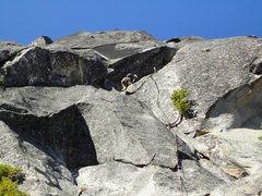 Rock Climbing Photo: Starting up Stuart