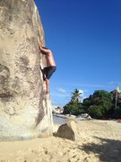 Bouldering at the Baths