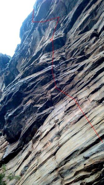 Rock Climbing Photo: Very steep and high quality crankin'!