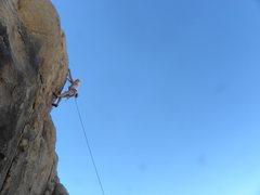 Rock Climbing Photo: Rolf Ryback on L.P.