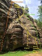 Rock Climbing Photo: a) Hump? It's 'Camel's Back', not 'Camel's Hump' -...