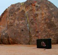 Rock Climbing Photo: A. Walter's Crack at Wagon Wheel