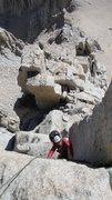 Rock Climbing Photo: final corner