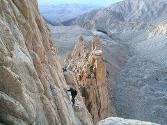 Rock Climbing Photo: tower traverse