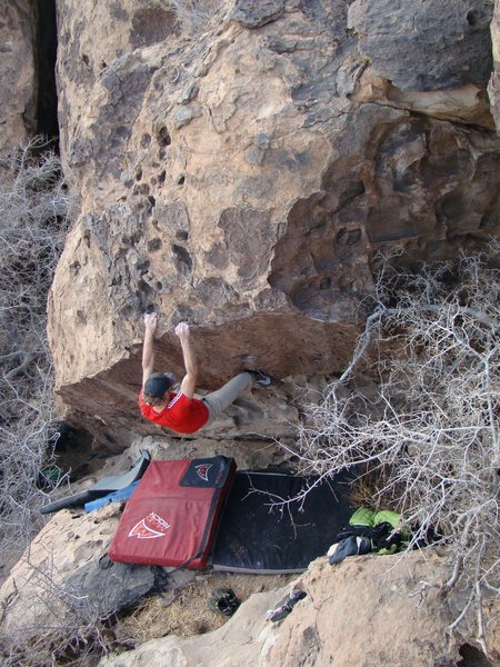 Rock Climbing Photo: Top down top out holds..