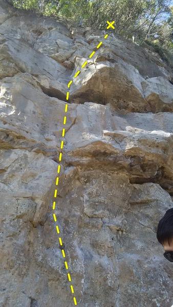 Rock Climbing Photo: Chicken Supreme
