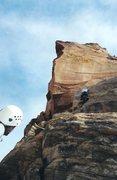 Rock Climbing Photo: A nice crack on p2