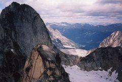 Rock Climbing Photo: NE Ridge from Snowpatch