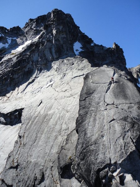 Rock Climbing Photo: onward and upward