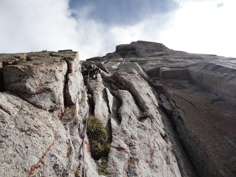 Rock Climbing Photo: p2 start