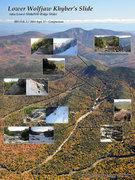 Rock Climbing Photo: Khyber's Slide (aka Lower Slide) on Lower Wolfjaw ...