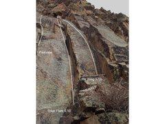 Rock Climbing Photo: Solar Flare.