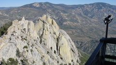 Rock Climbing Photo: View from old lookout