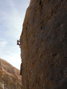 Rock Climbing Photo: Going Big on Set Free...