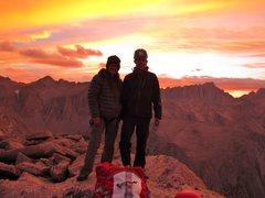 Rock Climbing Photo: Summit shot with my husband