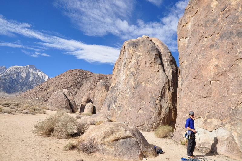 Rock Climbing Photo: Climbing!