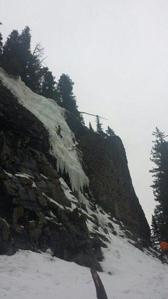 Rock Climbing Photo: Jeffs right