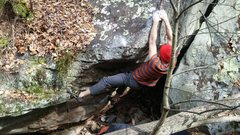 Rock Climbing Photo: Tom Hanks' Problem.