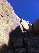 Rock Climbing Photo: Looking up at the OW.
