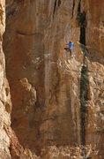 Rock Climbing Photo: Ed Strang working on the unfinished? OG Mudbone/Th...