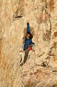 Rock Climbing Photo: Jason Litton giving it his all on the dyno at the ...