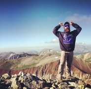 Rock Climbing Photo: #ballsohard on Mt. Guyot (2013)