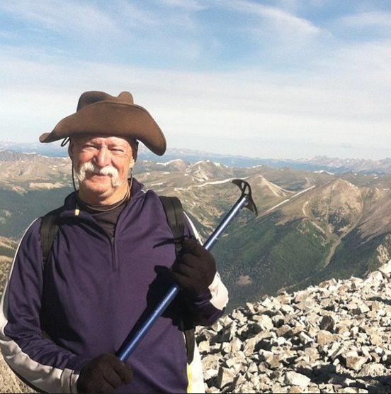 """Stinky Pete"" from Toy Story and a 74 client who hiked Mt. Antero (2013)"
