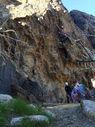 Rock Climbing Photo: Little Stiffy
