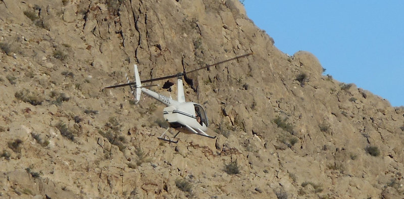 Rock Climbing Photo: Helicopter NT509L