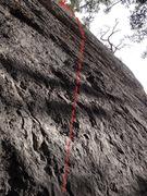 Rock Climbing Photo: Twilight Chainsaw
