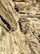 Rock Climbing Photo: Failing at this climbing stuff