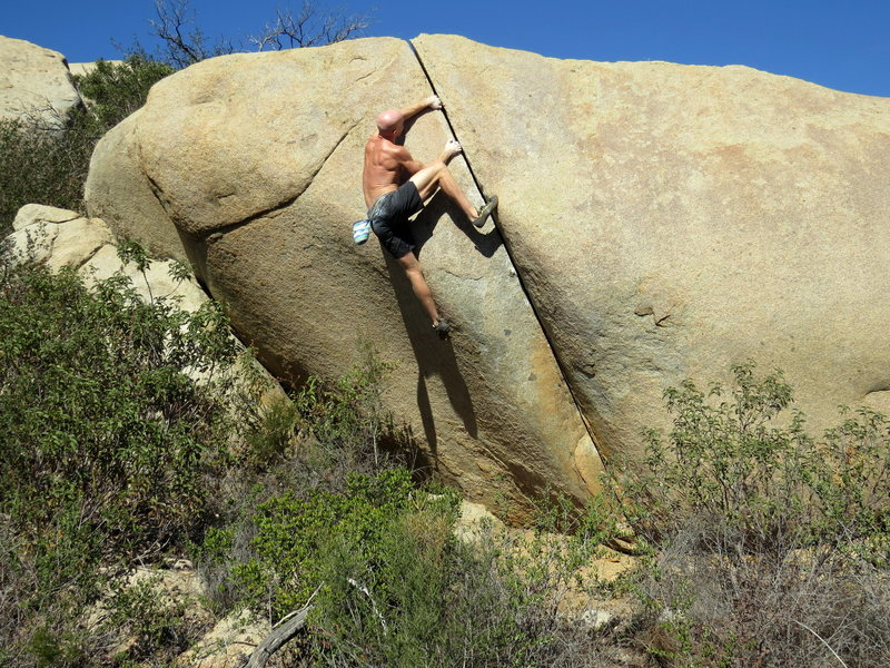 Rock Climbing Photo: If you walk all the way up there to do Yoav #1, do...