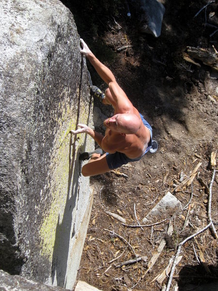 A cool-looking problem on sweet stone.