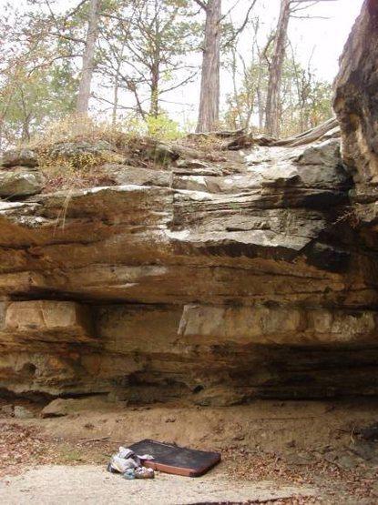Rock Climbing Photo: Medicine Man