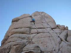 Rock Climbing Photo: leading up west wind with the brightest rope ever ...