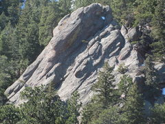 Rock Climbing Photo: East Face from the north.
