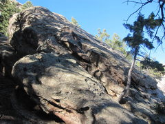 Rock Climbing Photo: East face from the southeast.