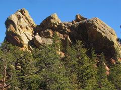 Rock Climbing Photo: Upper ridge taken from the west.