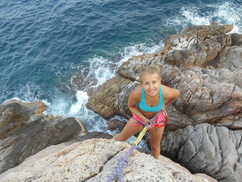 Rock Climbing Photo: We are constantly pushing the climbing on koh tao ...