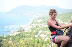Rock Climbing Photo: Amazing views .