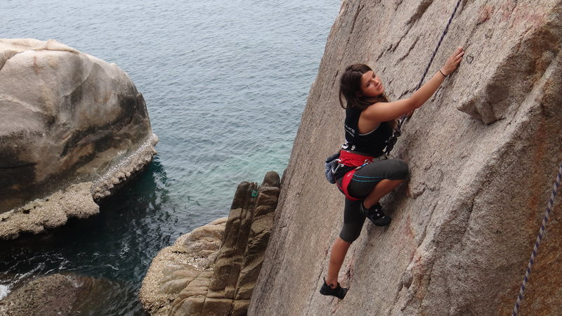 We try to find and bolt climbs of all grades and levels to suit all our climbers .