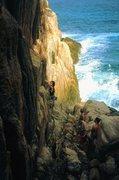 Rock Climbing Photo: Epic coastal climbs