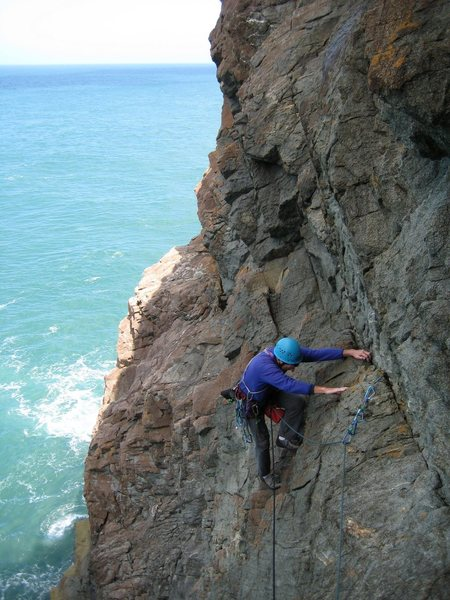 Rock Climbing Photo: Pembroke N Coast