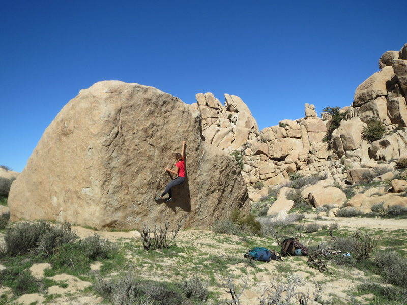 Some of the great bouldering scattered throughout VOTM